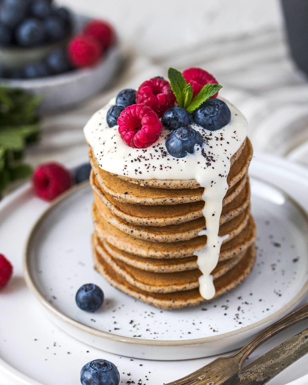 poppy seed pancakes
